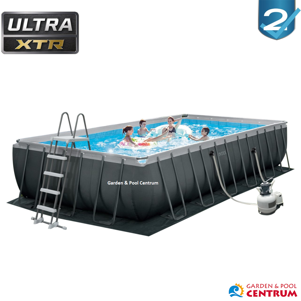 Bazén Intex Ultra Frame Rectangular XTR 7,32 x 3,66 x 1,32 m 26368 NP