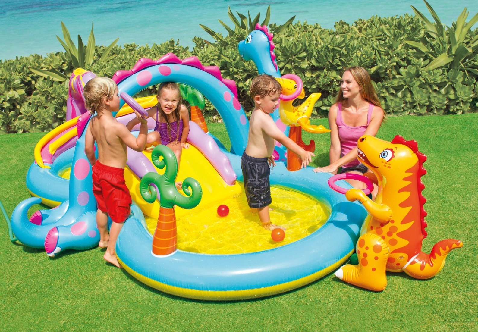 Intex Hracie centrum Dinoland 57135