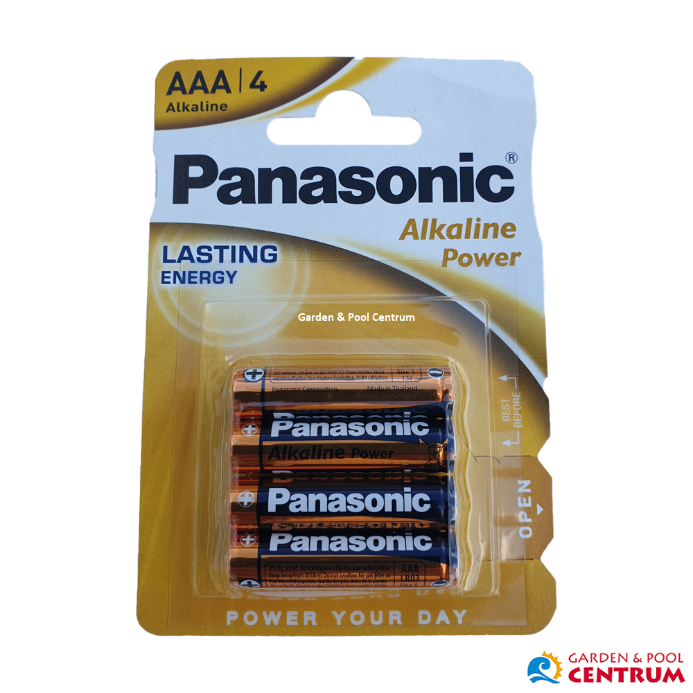 Batérie Panasonic Alkaline Power AAA 4 ks blister