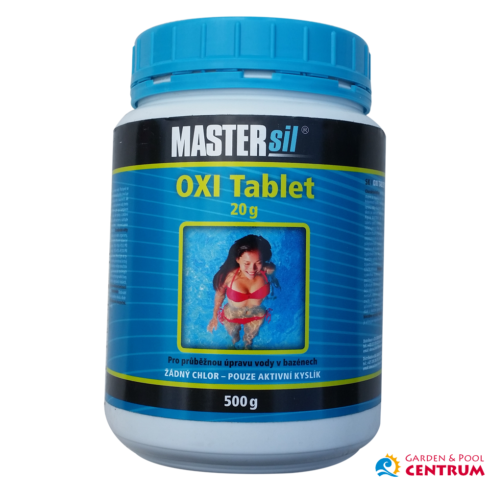 Mastersil Oxi mini tablet 20g