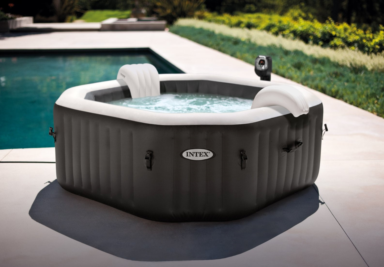 Intex 28454  Pure Spa Jet & Bubble Deluxe