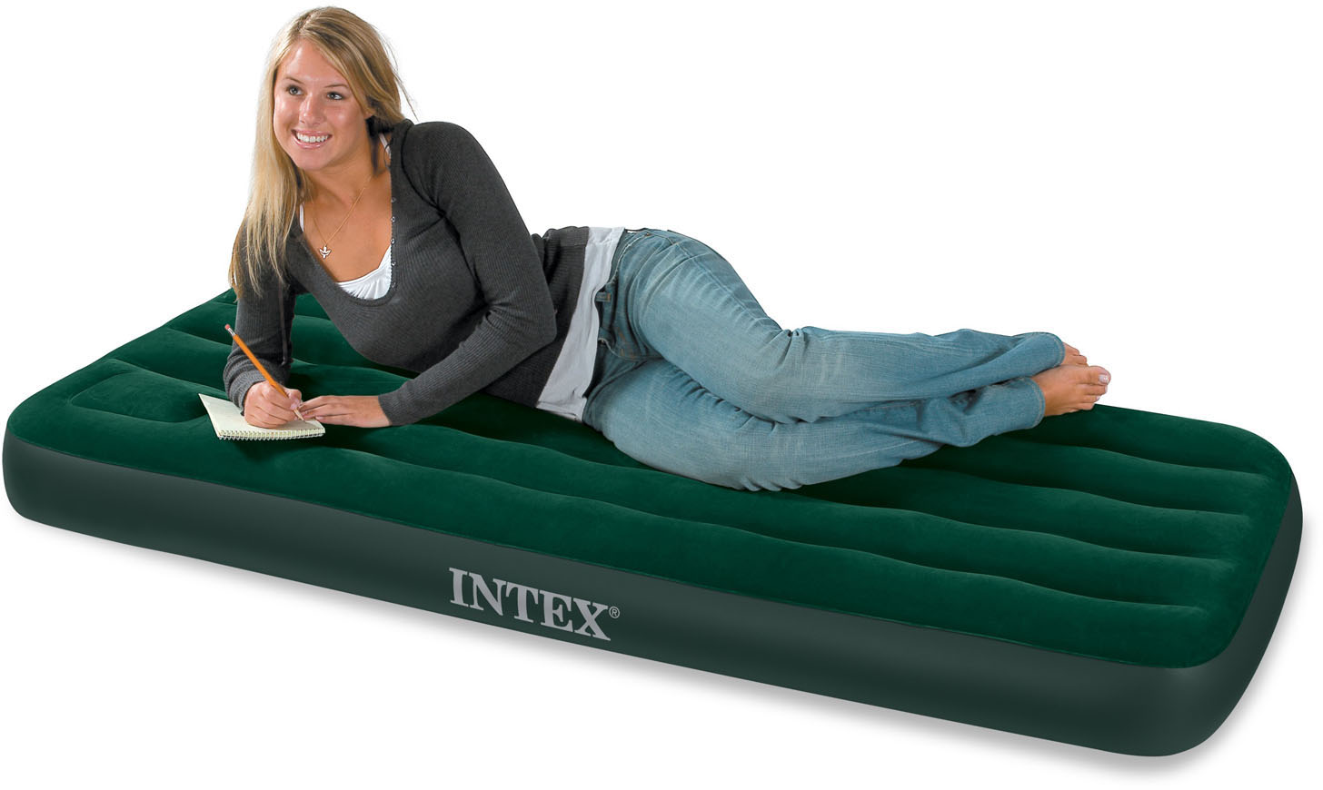 Nafukovacia posteľ Intex Junior Twin Downy Bed 66950