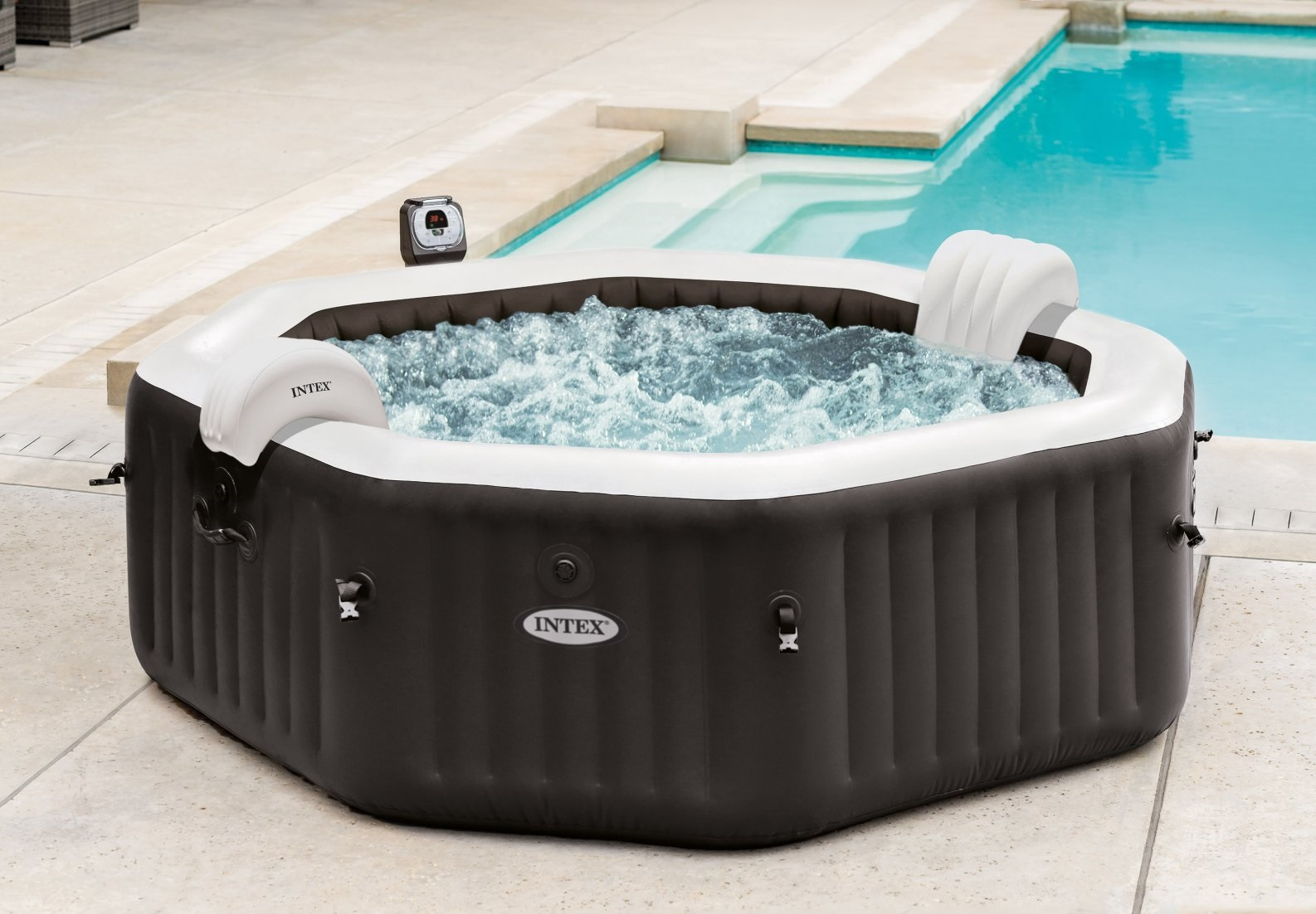 Intex 28456  Pure Spa Jet & Bubble Deluxe
